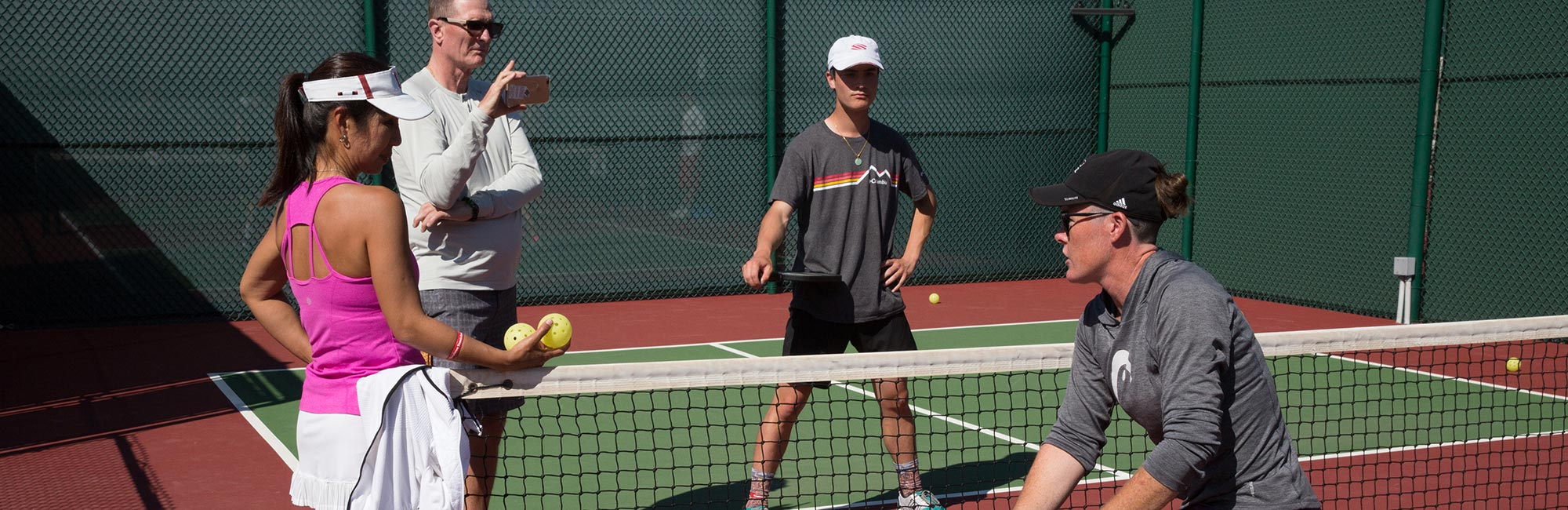 Meet our Pickleball Pros
